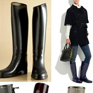 NWOT Aigle rain boots - made in France waterproof